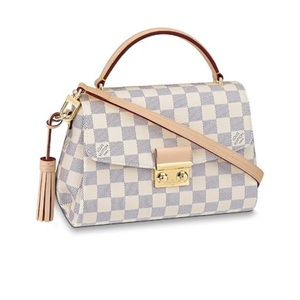 Louis Vuitton. Damier Azur Croisette Bag